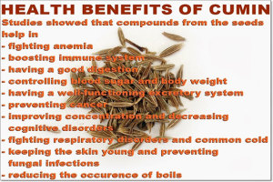 Jeera Benefits